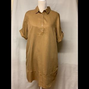 acc43529f2 Orvis Khaki Travel Dress with Side Pockets